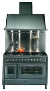 Photo Kitchen Stove ILVE MT-120F-VG Blue