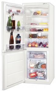 Zanussi kjøleskap temperatur